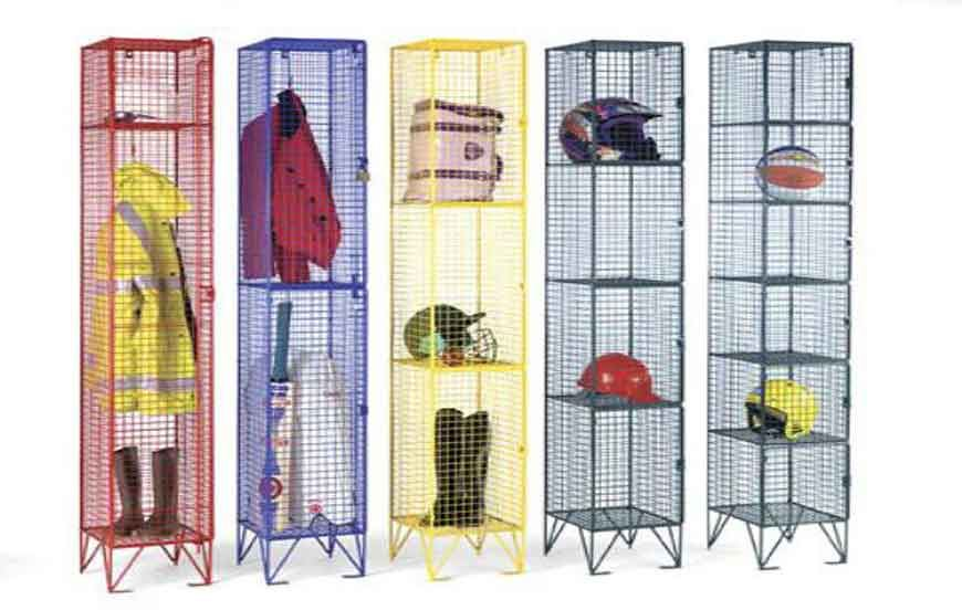 Why Wire Mesh Lockers Might Be The Storage Solution Your Business Needs?