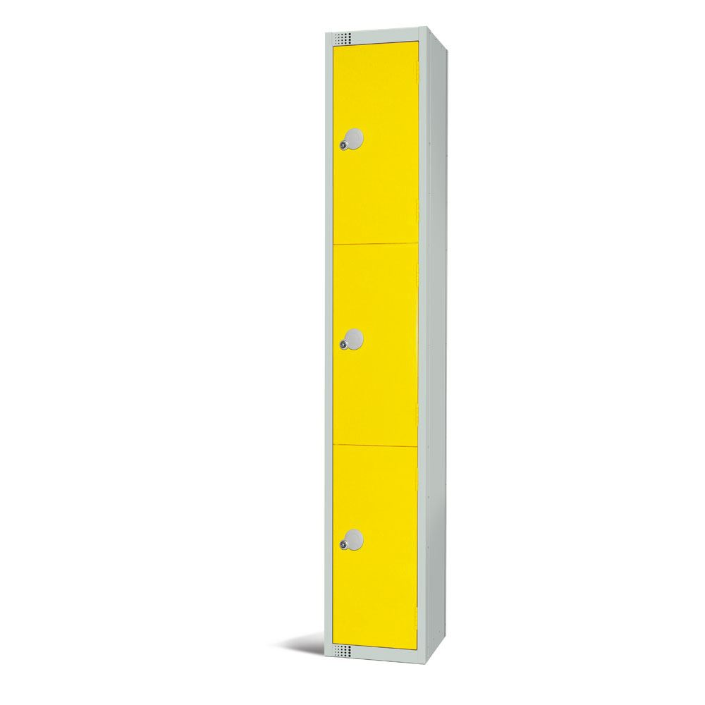 Metal Locker 3 Door 1800H by Elite
