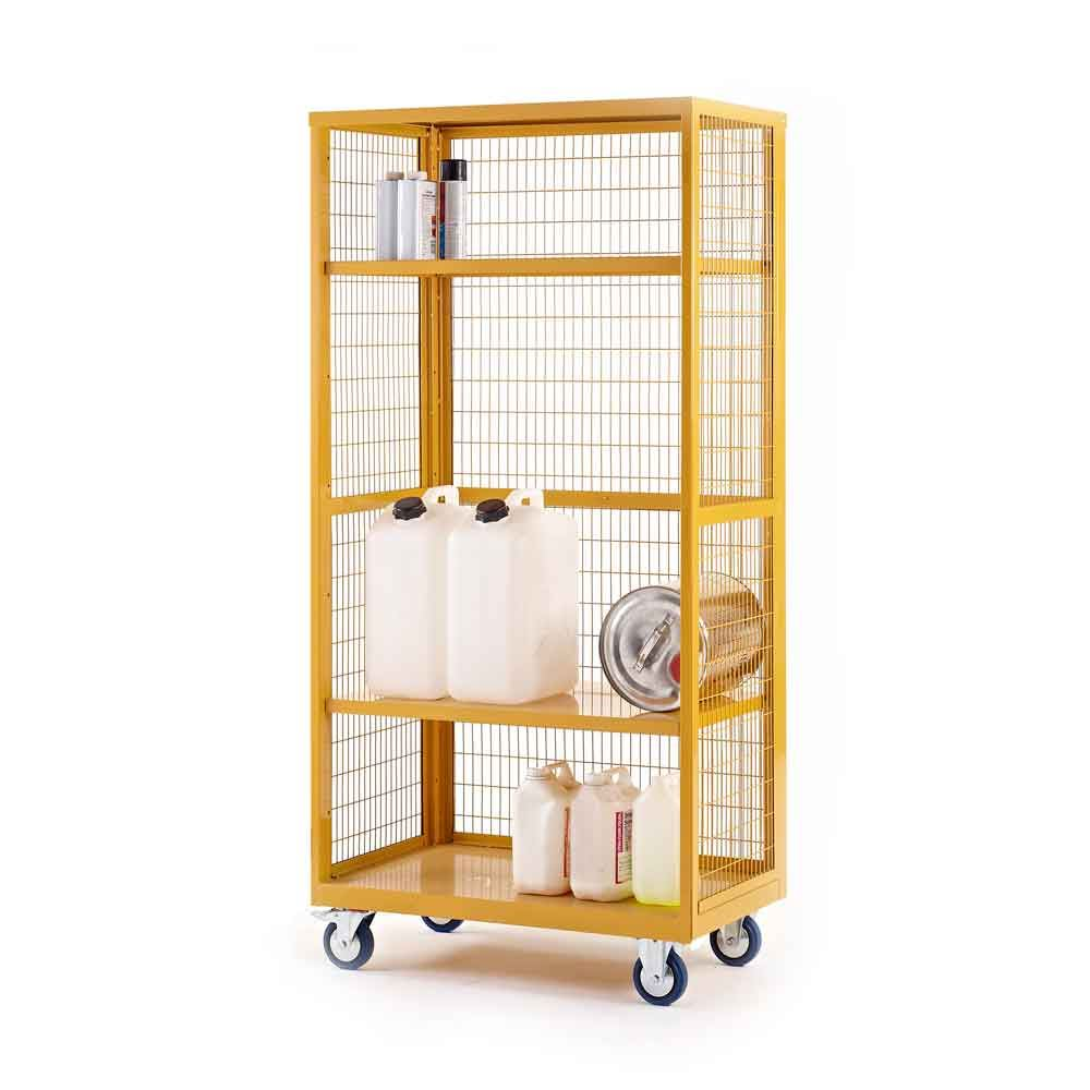 Hazardous Boxwell Mobile Trolley Without Doors by QMP