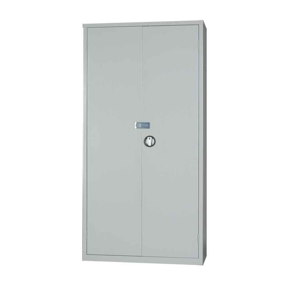 Metal Security Cupboard 1830H x 915W with added hasp fitting