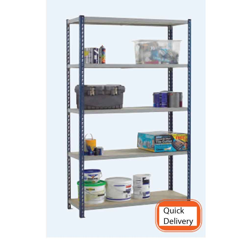 3 day Stockrax standard duty shelving 360kgs