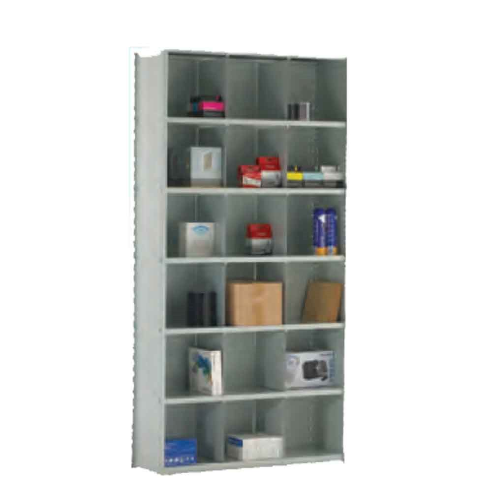 Stormor Steel Bin Shelving 18 Compartments