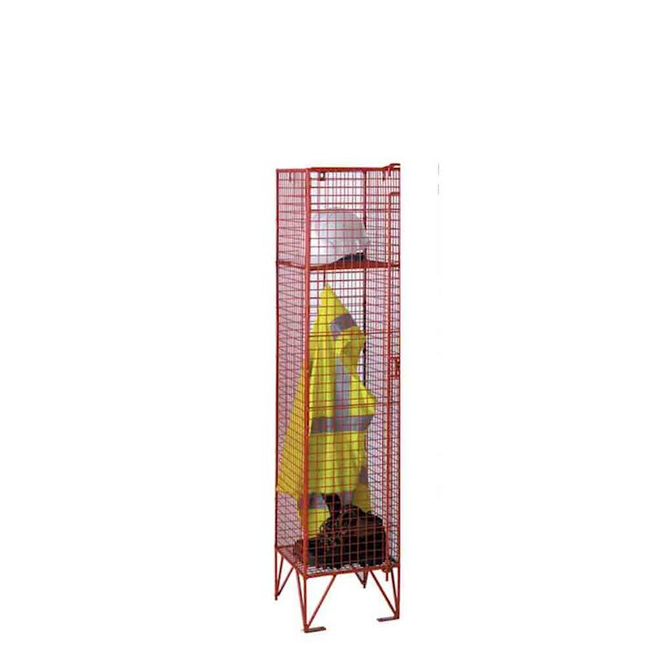 Mesh Low Height Single Door 1370H Locker