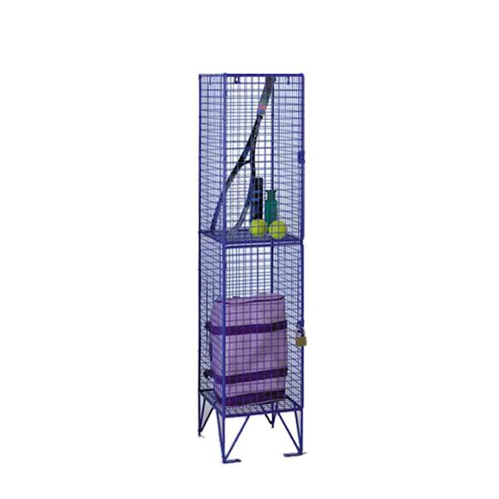 Wire Mesh Low Height 2 Door 1370H