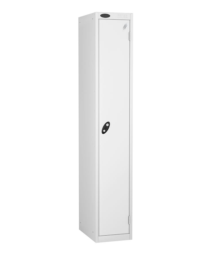 Probe White Single Door Metal Locker