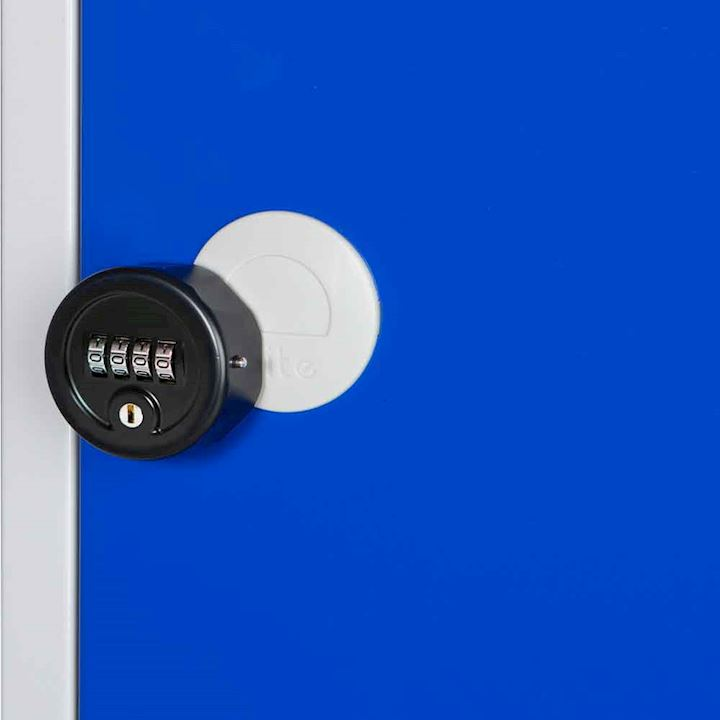 E Series 4 Digit Scroll Combination Lock