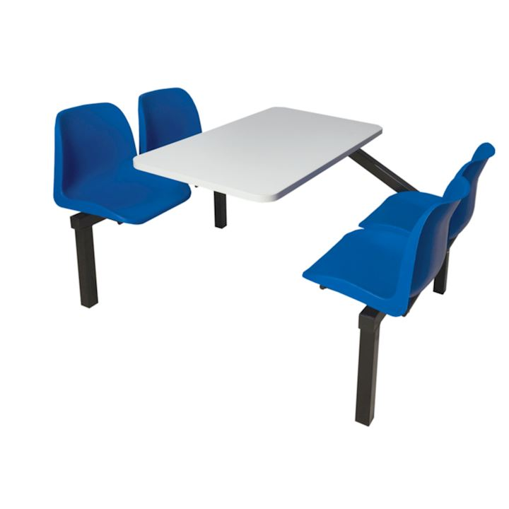 4 Seat Regular Canteen Furniture