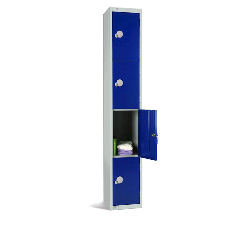 Metal Locker 4 Door 1800H by Elite