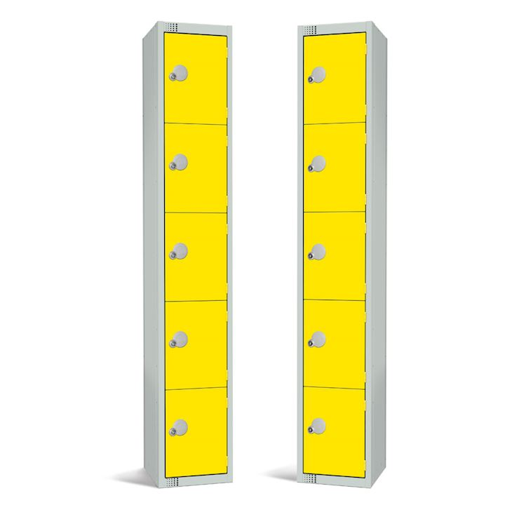 Metal Locker 5 Door 1800H by Elite