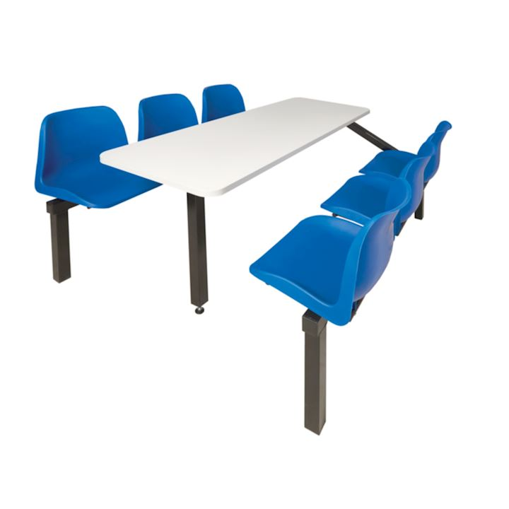 6 Seat Regular Canteen Furniture