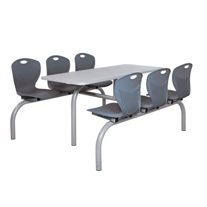 6 Seater Superior Modern Canteen Unit