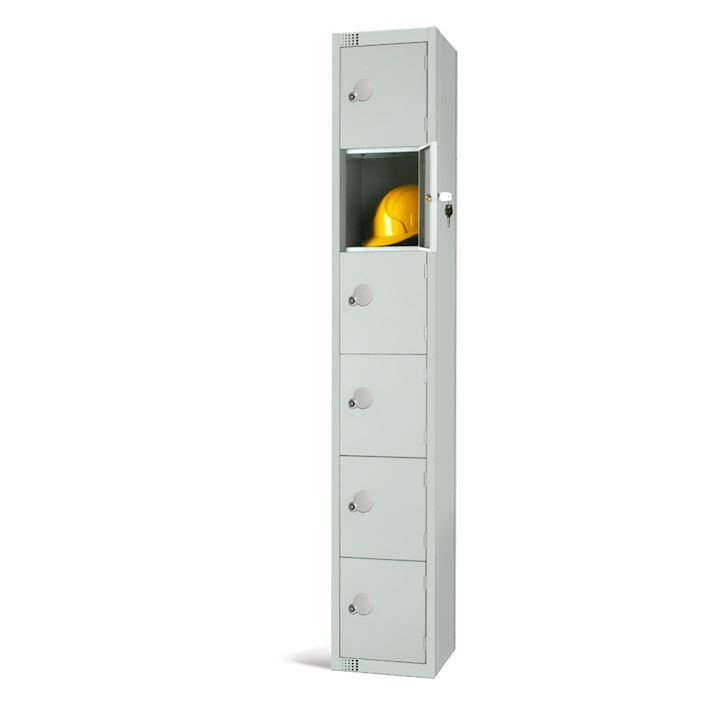 Metal Locker 6 Door 1800H by Elite