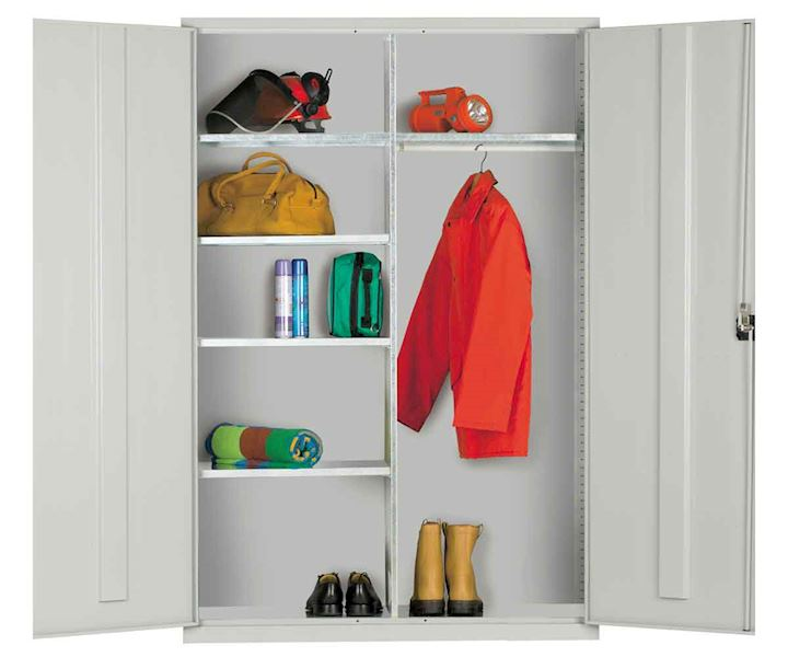 Extra Wide Clothing & Equipment Cupboard 1220W by Elite
