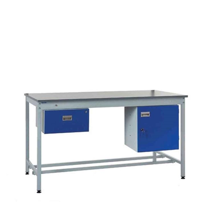 Budget Square Tube Workbench Type B -250kgs