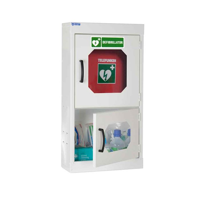 Defibrillator Cabinet with Clear Vision Doors