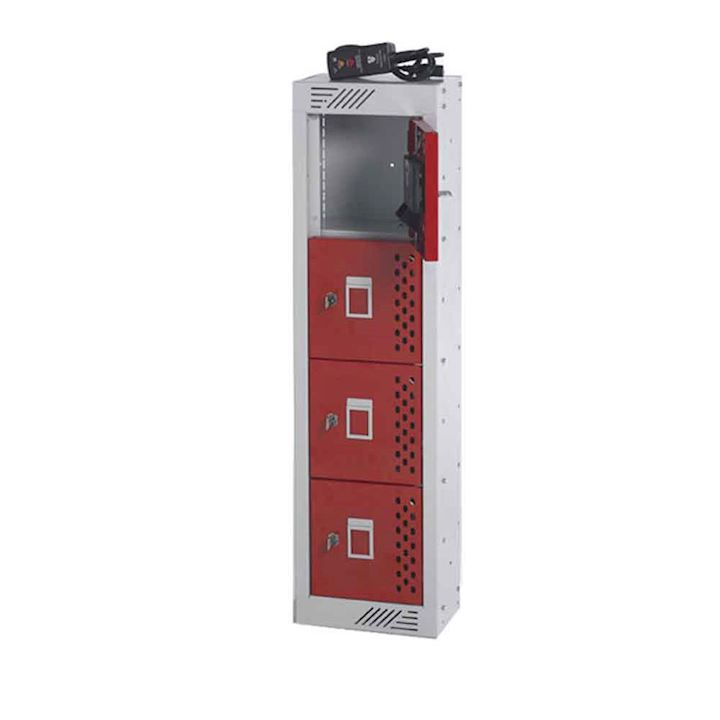 Express In Charge Four Door Phone Locker - 3 Day Delivery