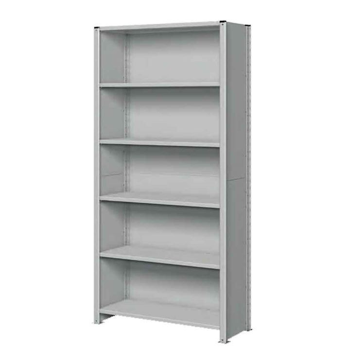 Quick Delivery Fully Clad Euro Shelving 160kg