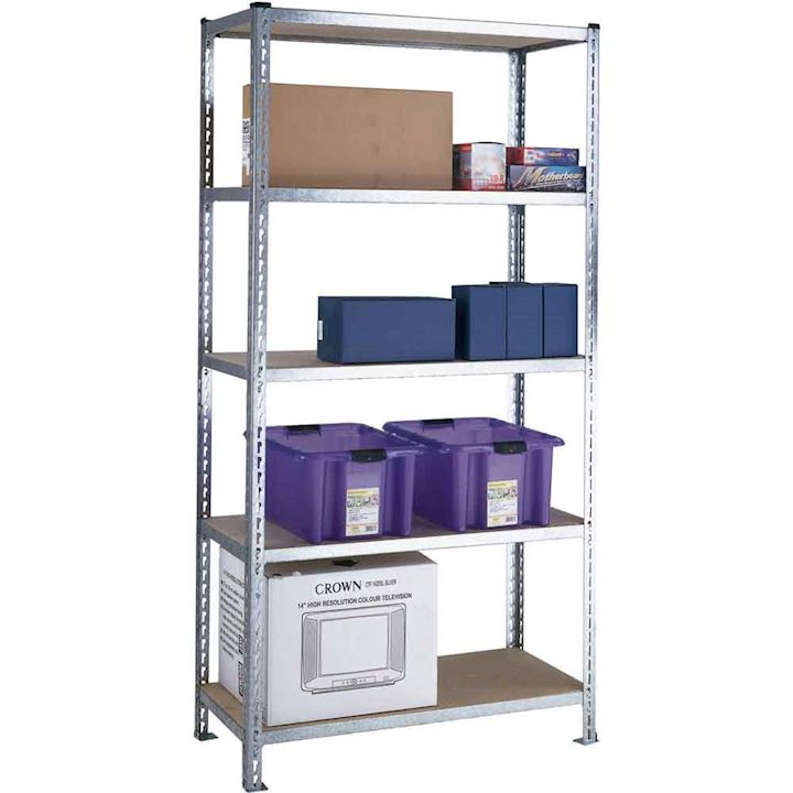 3 day delivery Galvanised Shelving Bay 360kg