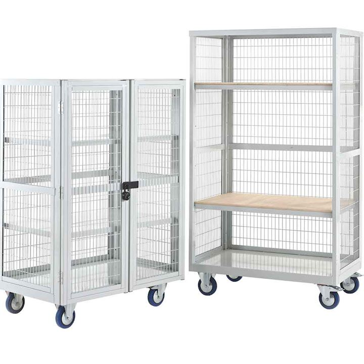 Boxwell Mobile Trolley Without Doors by QMP