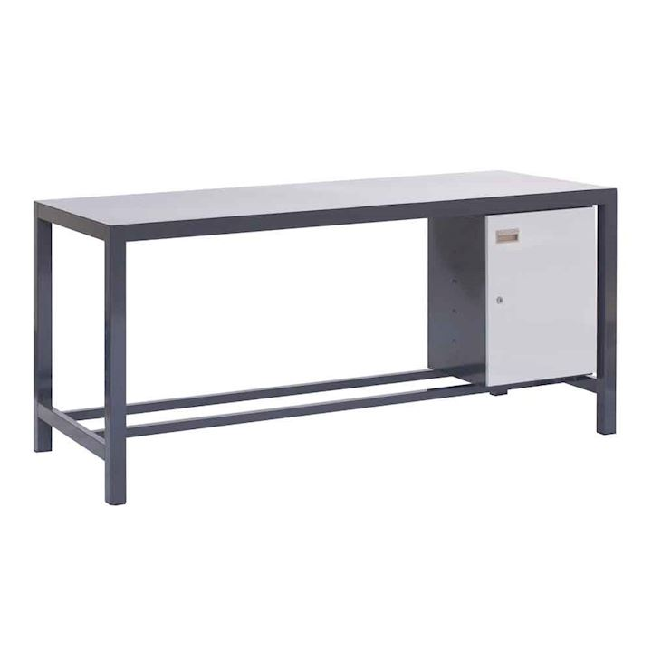 Heavy Duty Workbench with cupboard
