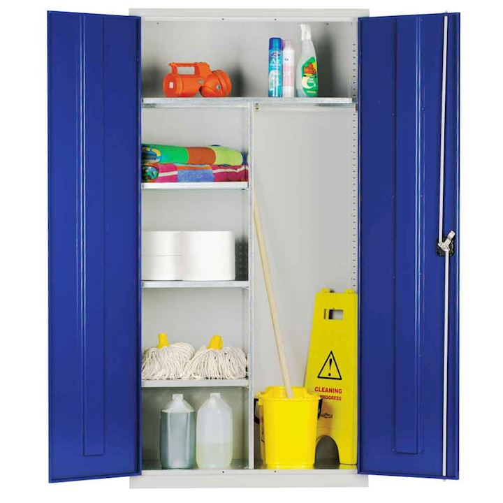 Extra Wide Janitorial Cupboard 1830H x  1220W by Elite