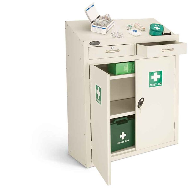 First Aid Work Station 1060H x 915W x 460D by Probe