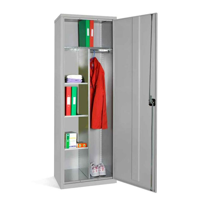 Slim Clothing & Equipment Cupboard 1830h x 610W by Elite