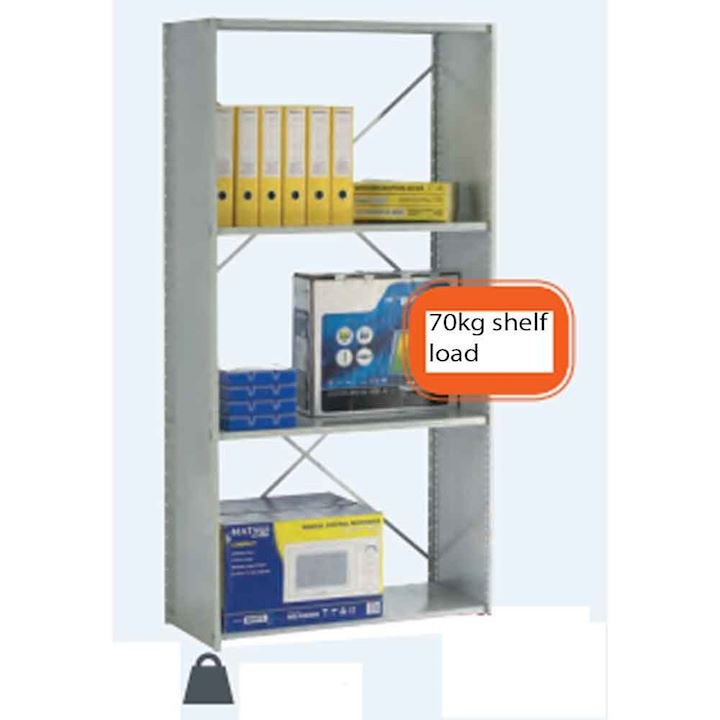 Quick Ship Stormor Side Clad Shelving 70kg