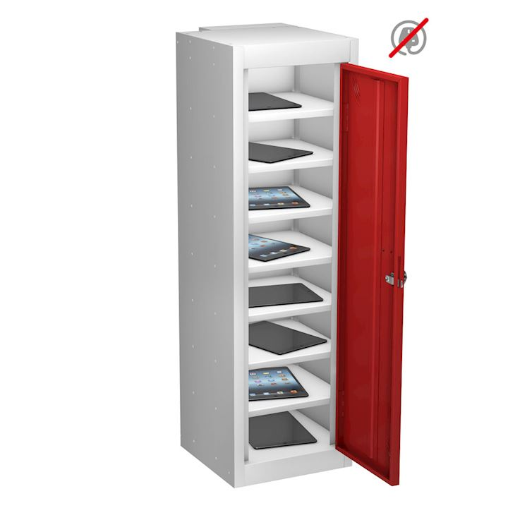 Tablet Locker 8 Compartments, Single Door by Probe 1000H
