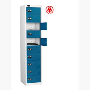 10 Door Charging Laptop Locker by Probe