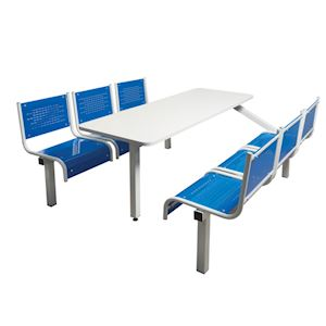 Break Out 6 Seat Steel Canteen Set - Fully Welded